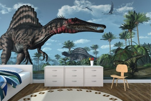 dinosaur Wall Mural Kids Room