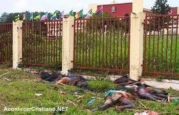 Masacre de cristianos