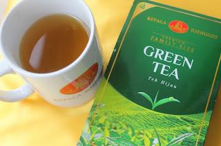 manfaat teh hijau kepala jenggot diet