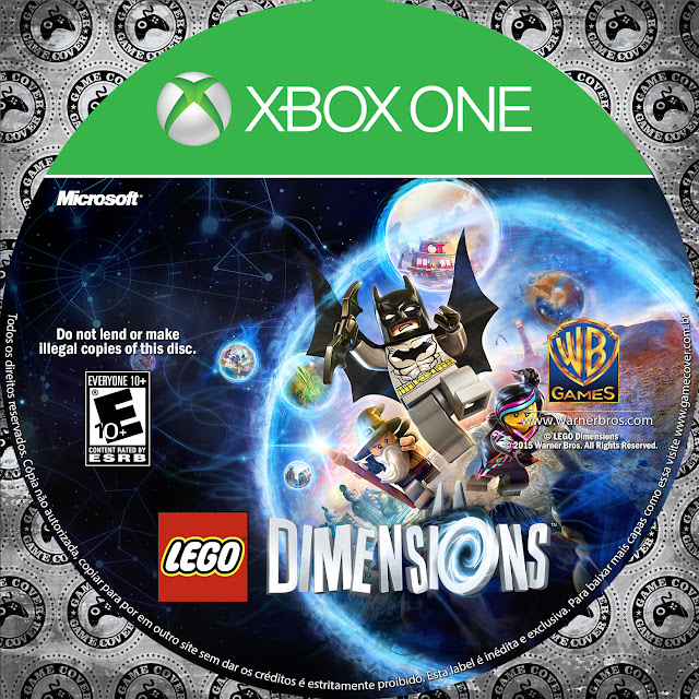 Label LEGO Dimensions Xbox One [Exclusiva]