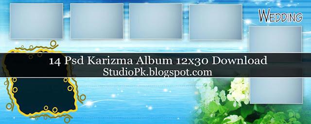 Karizma Photo Album Psd