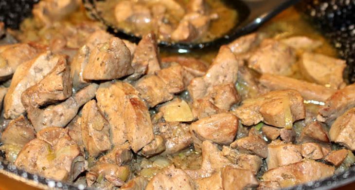 Mäsová polievka s haluškami