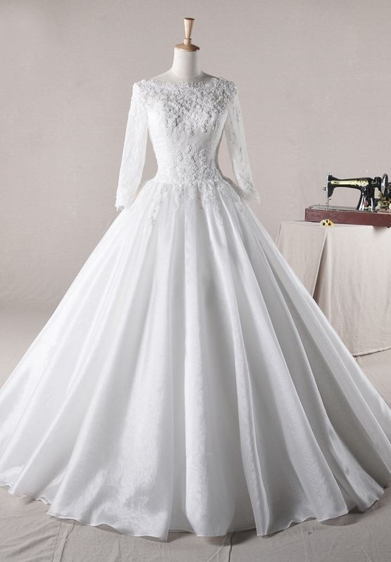 Whiteazalea Ball Gowns Lace Wedding Ball Gowns