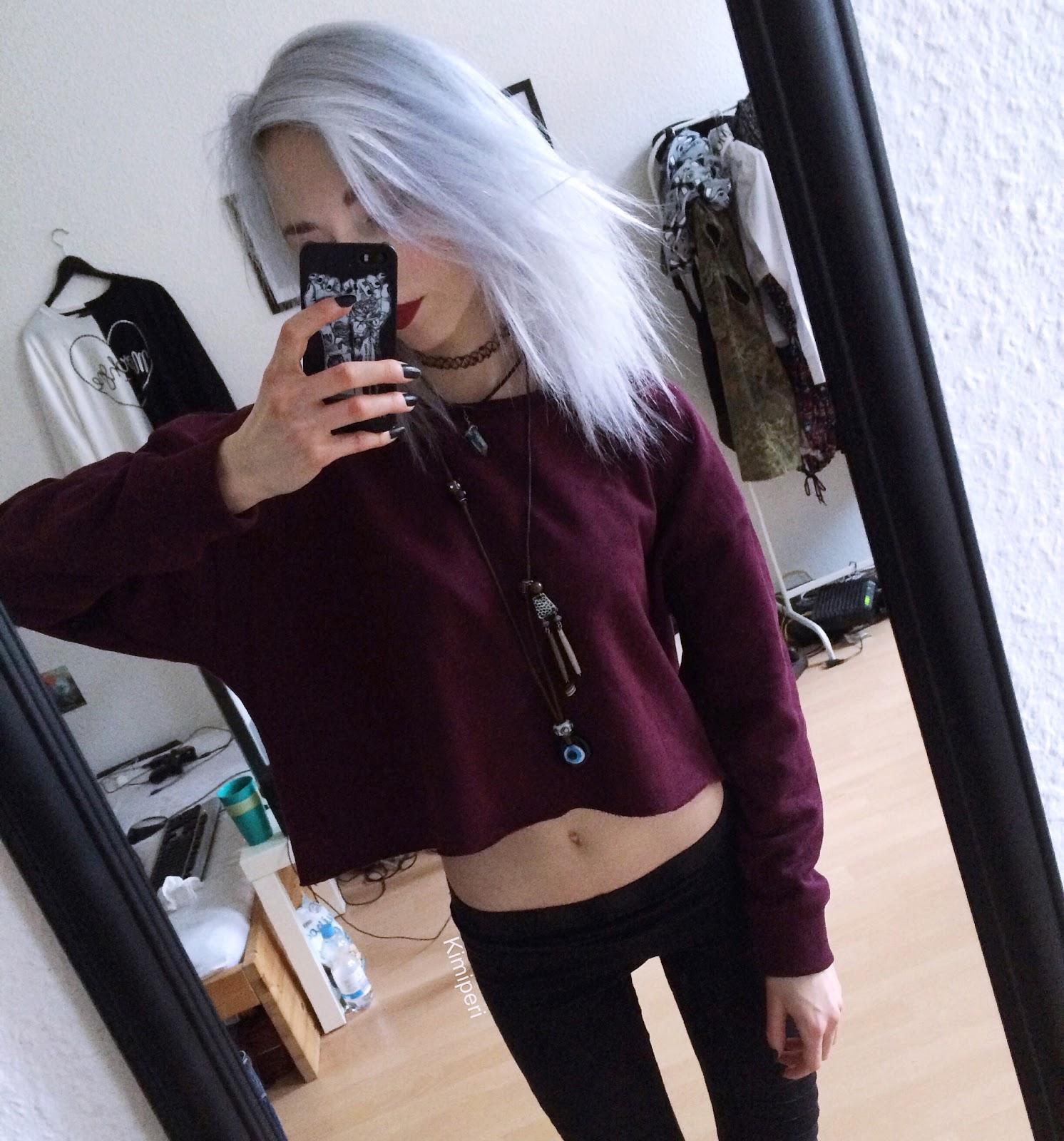 DIY Cropped Grunge Sweater | BLACKRUSH