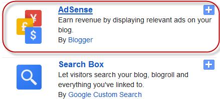 Adsense Ads to Blogger