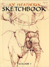 JOE WEATHERLY SKETCHBOOK VOL.1