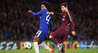 Chelsea vs Barcelona Imbang 1-1 Liga Champions Highlights