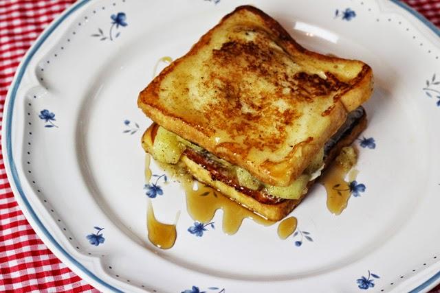funnypilgrim rezept gef lltes french toast. Black Bedroom Furniture Sets. Home Design Ideas