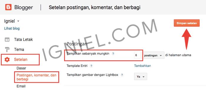 Mengapa Posting Hanya Tampil Satu di Homepage Blogspot