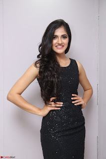 Simran Chowdary Model in Beautiful Black Dress at FBB Miss India 2017 finalists at Telangana auditions (4).JPG