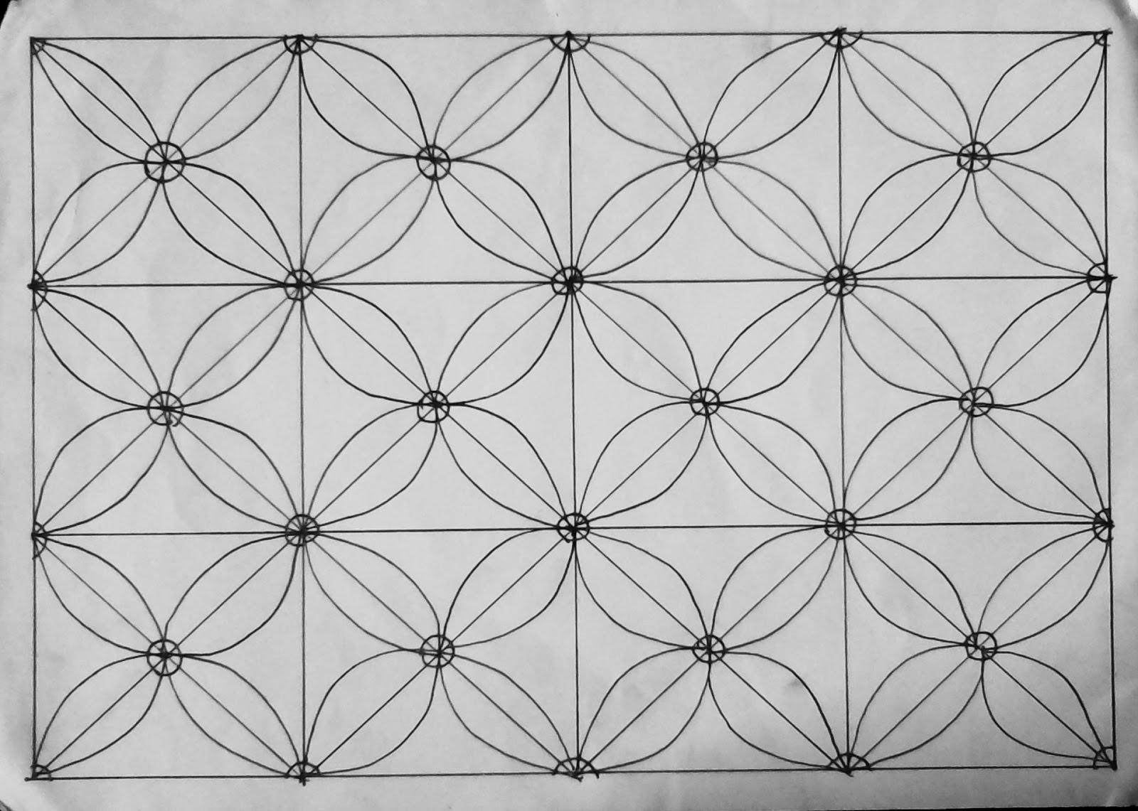 Gambar Sketsa Batik Yang Mudah Digambar