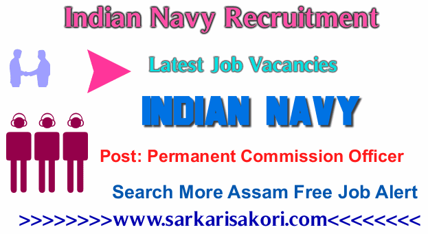 Indian Navy Recruitment 2017 Permanent Commission Officer