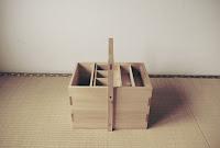 横向きのテンカラ道具箱