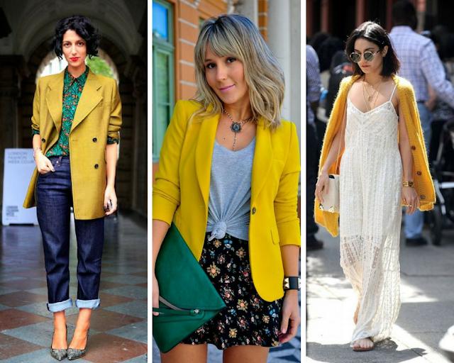 Saiba como usar amarelo a cor do verão 2018