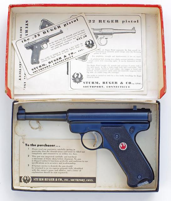 Original Model Ruger .22 Pistol