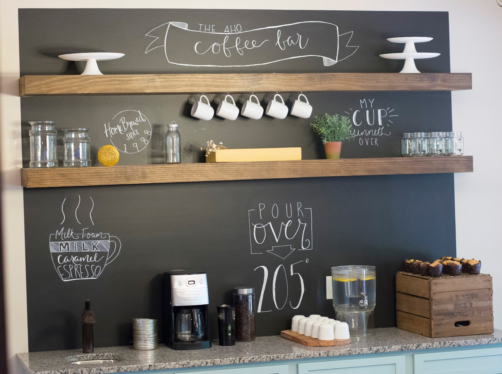Delightful Order Fixer Upper Coffee Bar Contributor Post