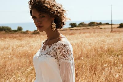 Sesja w Afryce: suknie  ślubne od salonu Carolina.