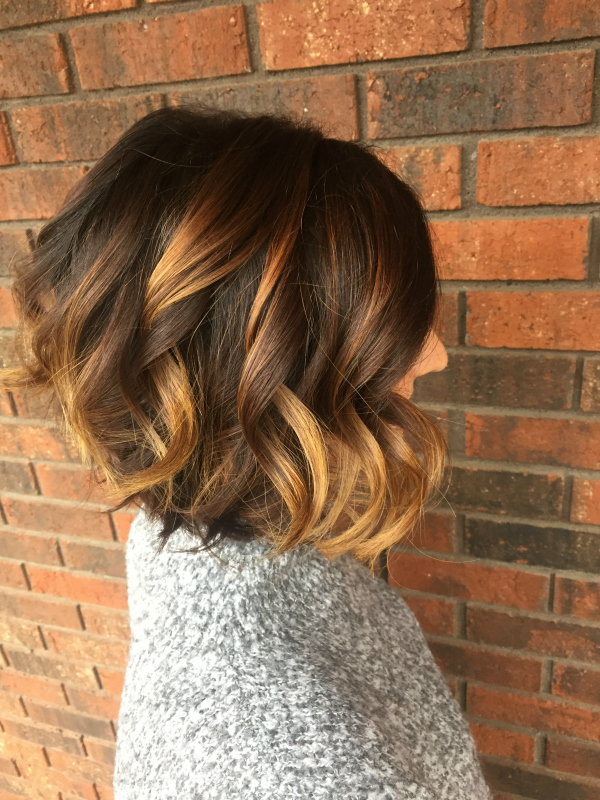 hair style, shadowed roots, balayage, angled bob, hair color, hair cut, short hair style