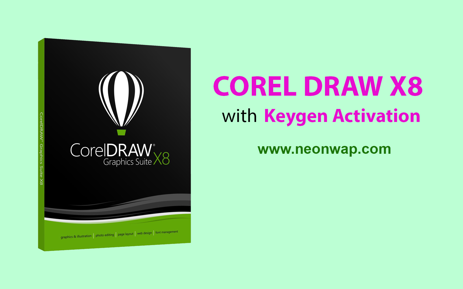 coreldraw graphics suite x8 serial key