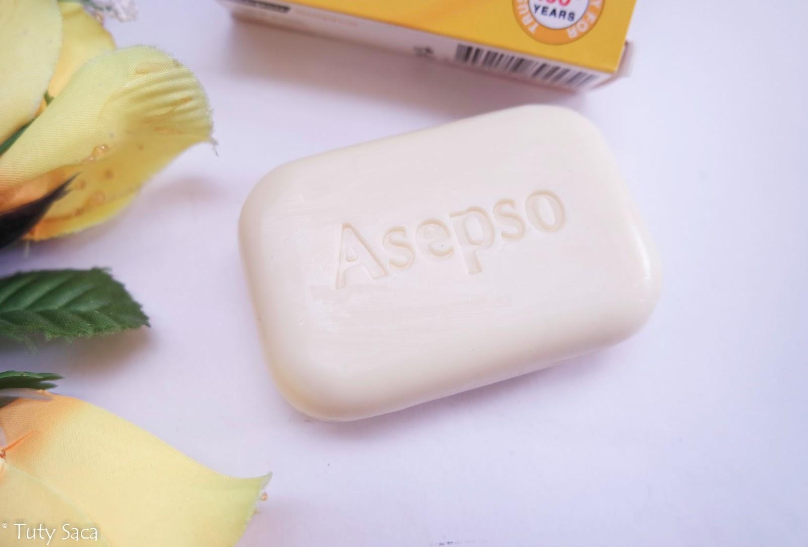 Tuty Saca Asepso Sabun Jerawat Sulfur Plus Antiseptic Soap Setelah Pemakaian 2 Bulan