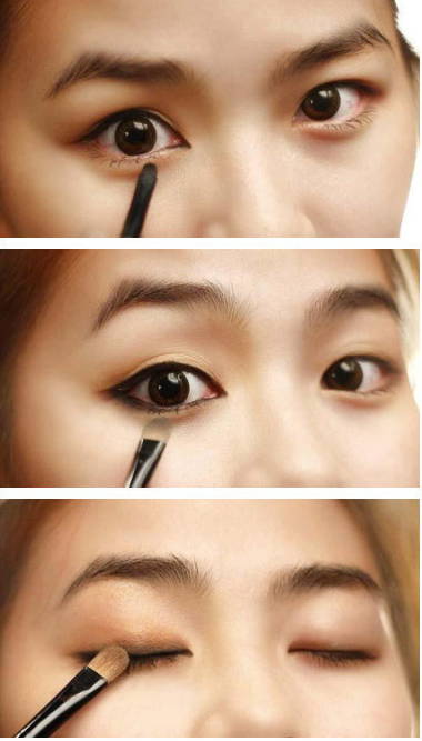 "Asian Eyes Kpop And Makeup: ASIAN EYES Natural Every Day FALL MAKEUP TUTORIAL ""HOW TO"