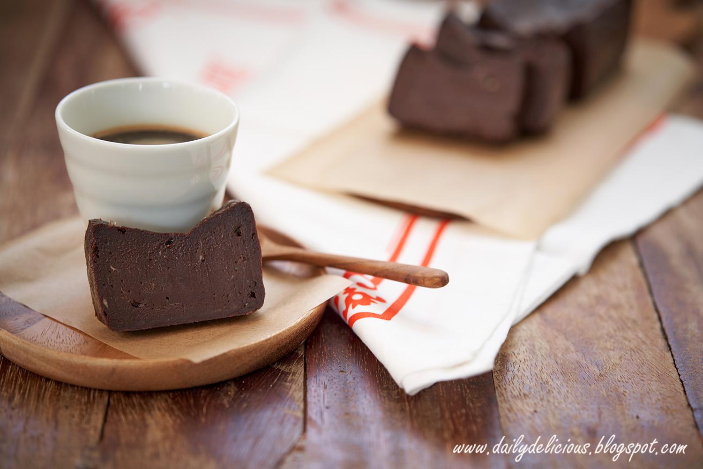 Coffee Cup Flourless Chocolate Cake