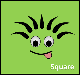 Square Shapes free clipart