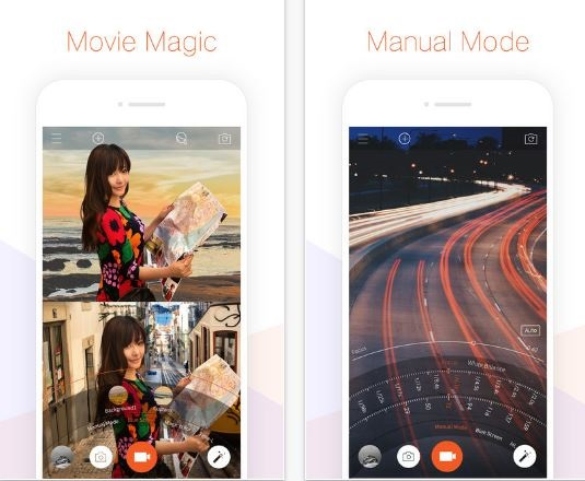 Musemage - Professional Video Camera and Editor , Apple's free app of the week awarded App Store Photography & Video recommended App in the United States, Canada, India, and Brazil