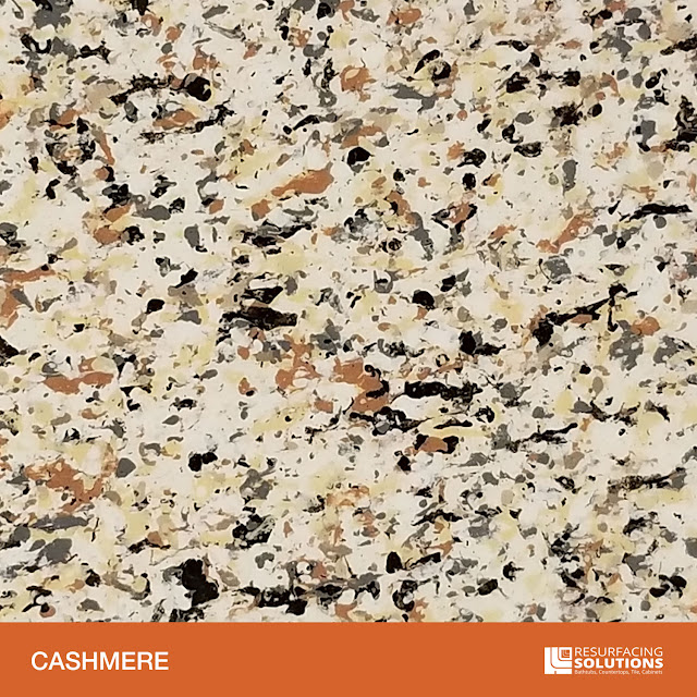 Resurfacing Solutions Knoxville Faux Granite Countertop Color Sample 18