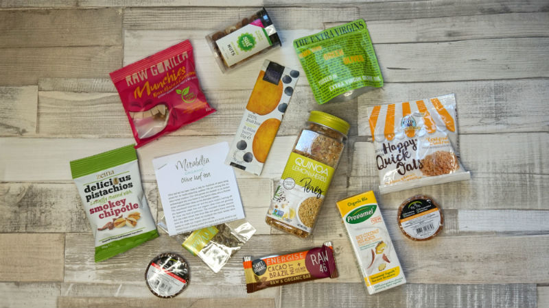 Vegan Tuck Box - The Health Kick Box