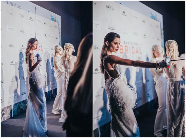isabel zapardiez coleccion touche 2019 vestido novia Bilbao