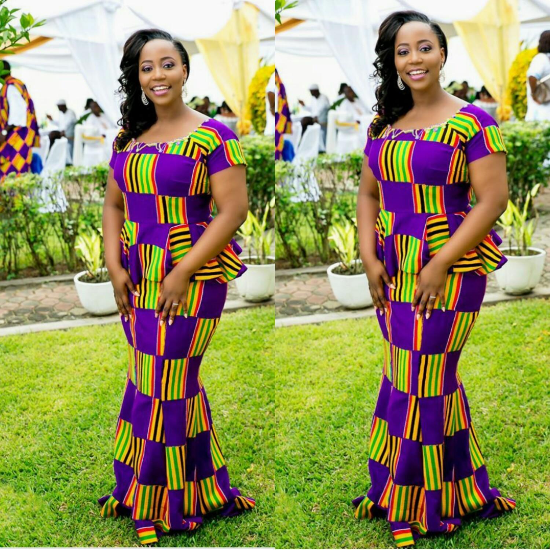 Hottest Kitenge Dress Styles