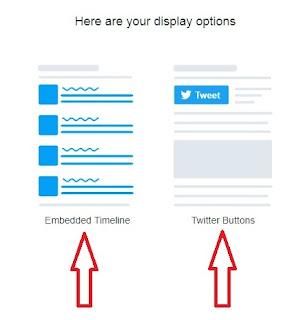 Настроить виджет и кнопки соц сети Twitter