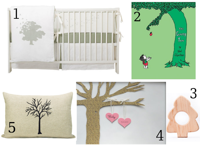 Next Stop Another Baby Tree Inspired Nursery