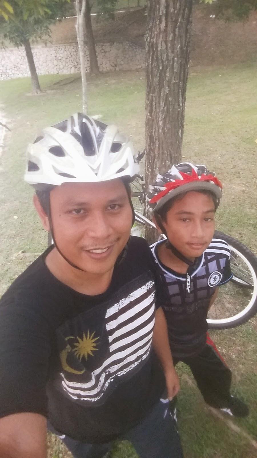 Cycling with Mr Haris