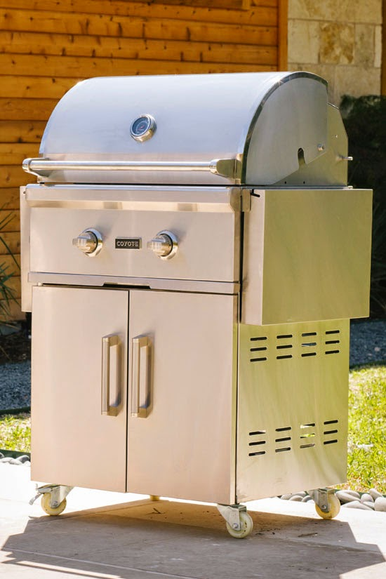 Enter the Coyote Outdoor Living Grill Giveaway. Ends 12/28.
