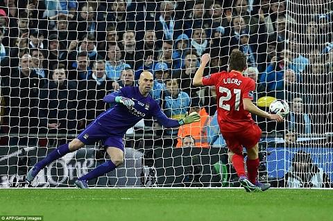 Caballero bảo vệ khung thành đội bóng Man City