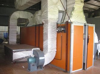 máy sấy tinh bột nghệ
