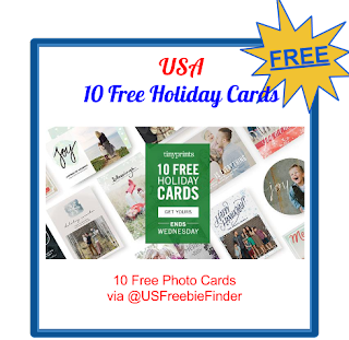 USA Freebies-10 Free Holiday Cards from Tiny Prints