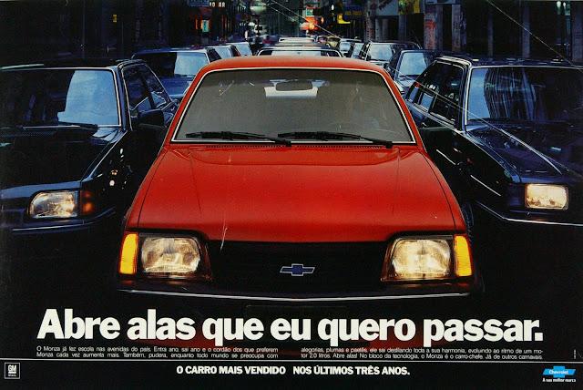 Chevrolet Monza - carro mais vendido do Brasil