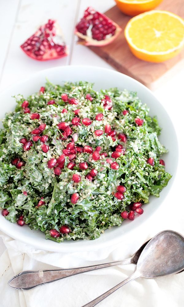 6.Christmas Kale Salad Finding it hard to stay healthy at Christmas? 30+ Healthy Christmas Dinner Ideas for Entire Christmas Month. alternative christmas dinner | perfect christmas dinner | christmas dinner food | christmas cooking dinner | recipes for christmas dinner #dinnerideas #dinnertime #veganrecipes #veganfood