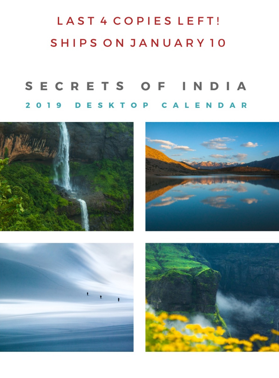 Secrets of India | 2019 Desktop Calendar