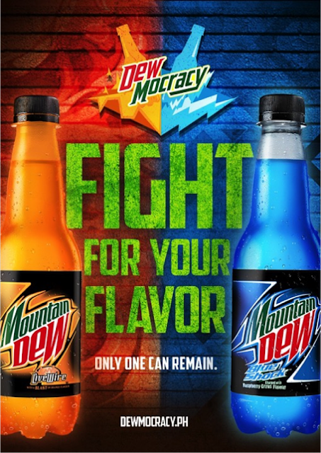 Mountain Dew's DEWmocracy: Dew Blue Shock or Dew Live Wire ...