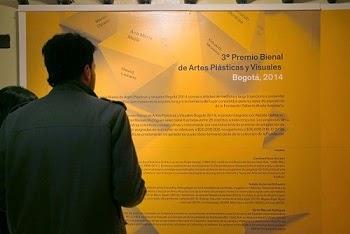 III Premio Bienal Artes Plásticas y Visuales Bogotá 2014