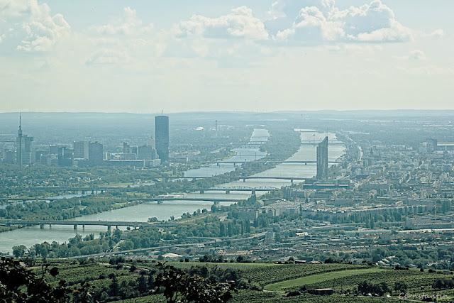 "Vedere din Kahlemberg - ""Dunãrea albastrã"" strãbate Viena - blog FOTO-IDEEA"