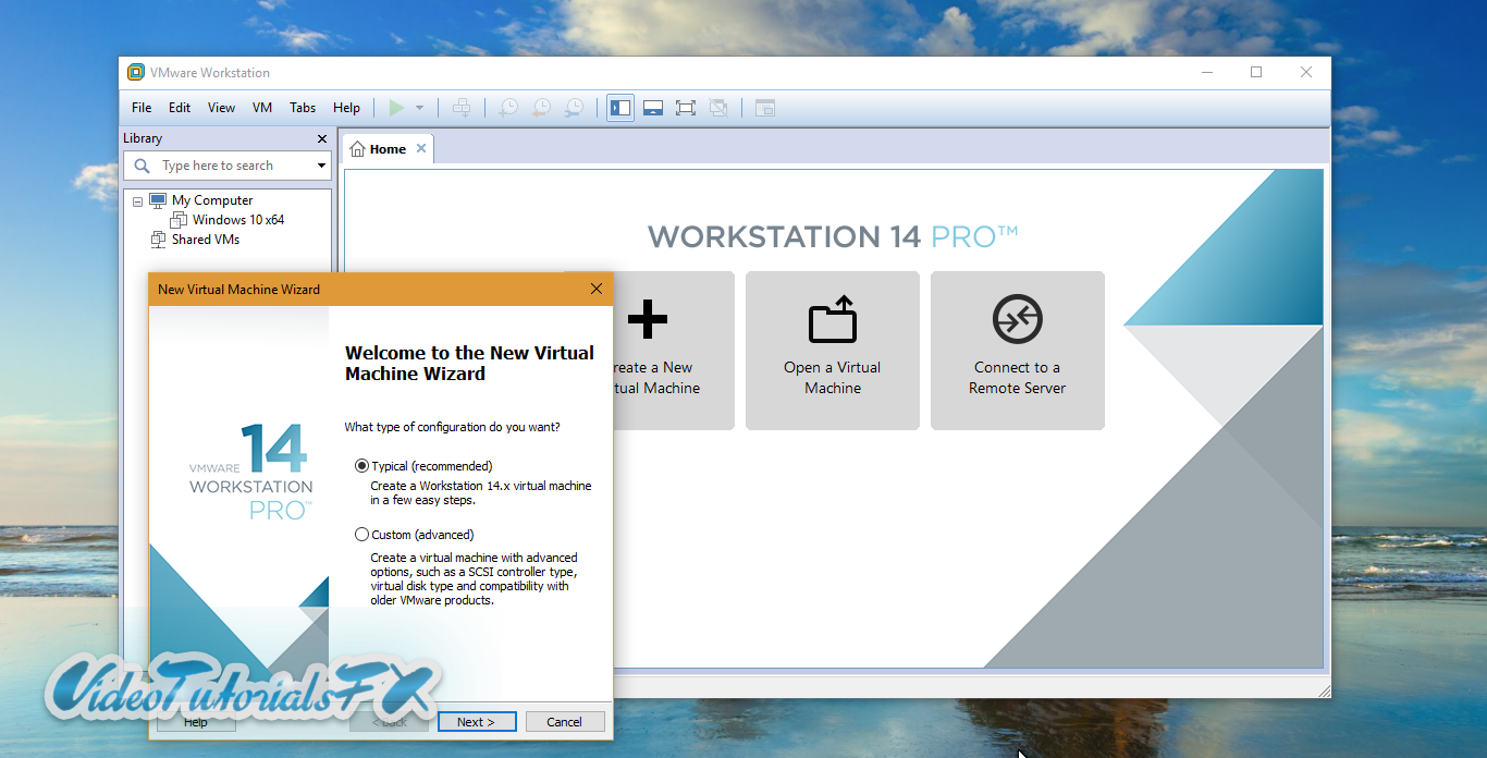 VMware Workstation 14 Pro + VMware Workstation 14 Player - Windows