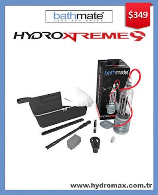 Bathmate Hydroxtreme 9 - Medium size hydro penis pump