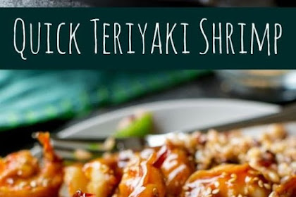 30 Minute Teriyaki Shrimp