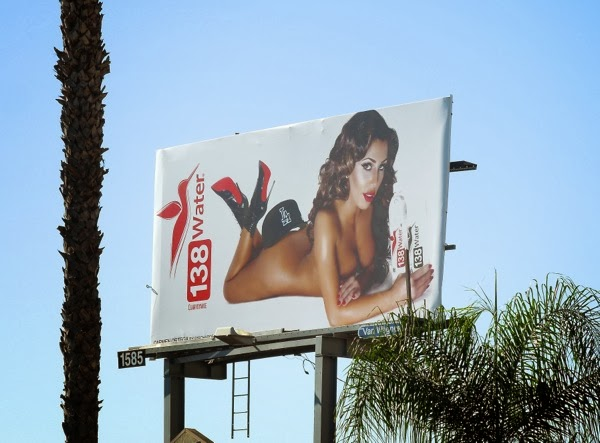 138 Water naked Carmen Ortega billboard