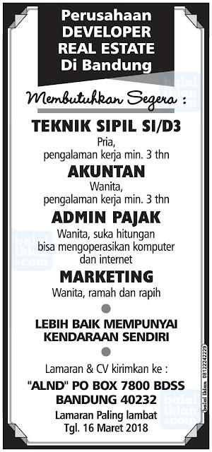 Lowongan Kerja Kontraktor Bandung
